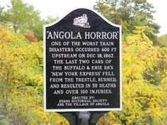 Dedication Plaque to Angola Horror
