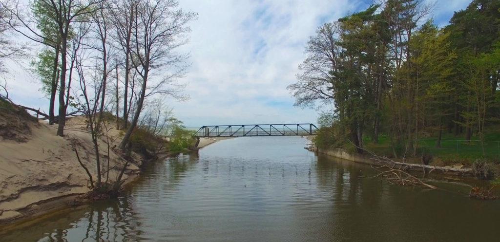 Bennett Beach Bridge