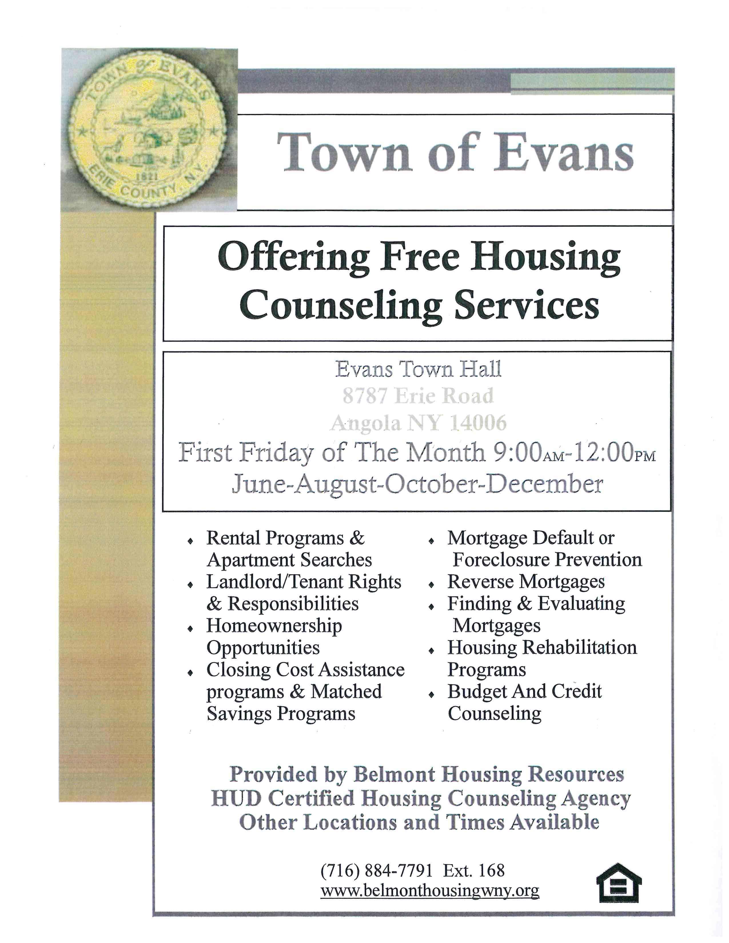 Free Housing Counseling