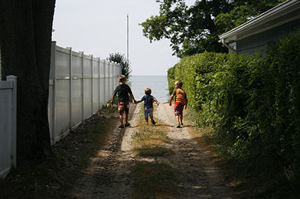 Heading for the Beach