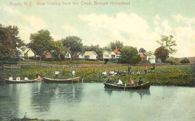 View of Creek via Bennett Estate