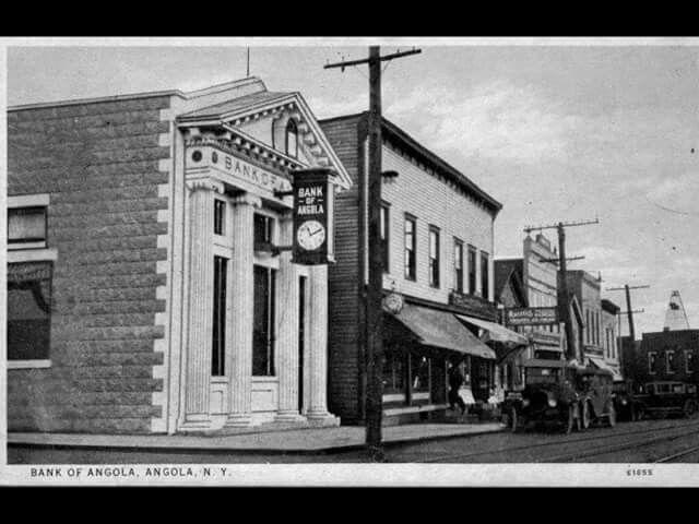 Main Street Angola circa 1855